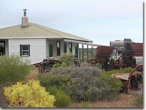Old Farm Machinery at Homestead